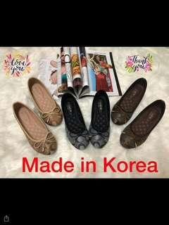 Restock Korea flat shoes ! Salable!