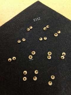 E112 - DIY Moveable Small Plastic Eyes (0.5cm).