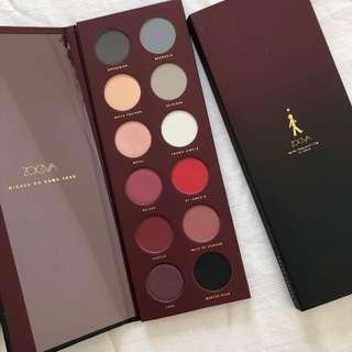 limited edition Zoeva queens guard eyeshadow palette