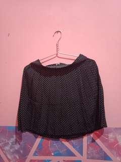 Hw skirt polkadot