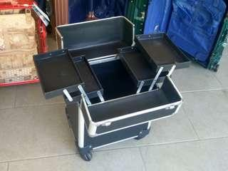Makeup box trolley luggage