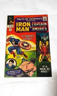 TALES OF SUSPENSE # 68 CAPTAIN AMERICA IRON MAN