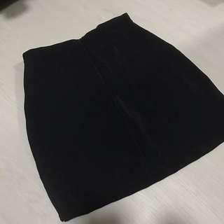 Wrapover Pencil Skirt