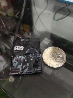 Star wars medallions/coin
