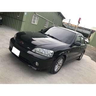 【FB搜尋桃園阿承】福特 超人氣TIERRA 跑15萬 2007年 1.6 黑色 二手車 中古車