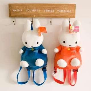 Miffy Bunny Plush Bag Backpack