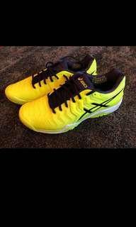 Asics gel solution 7 tennis shoes; us 9.5