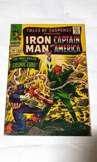 TALES OF SUSPENSE 80 CAPTAIN AMERICA IRON MAN