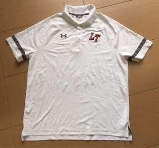 Authentic Under armour shirt new made in peru