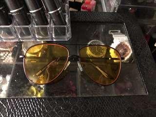 Sunnies Studios Yellow Eyewear