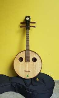 da ruan big size chinese bass guitar
