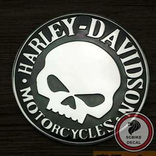 Harley davison Metal emblem