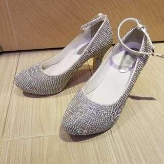 閃爆高跟鞋 sparkling high heel shoes