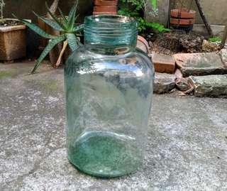萬年商號玻璃甕(瓶)—古物舊貨、早期民藝玻璃製品收藏