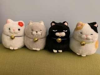 Amuse貓貓 肥貓噹噹公仔