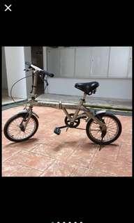 "Aleoca Foldable 16"" Junior Bicycle"