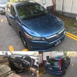 Honda Stream Available For Rent