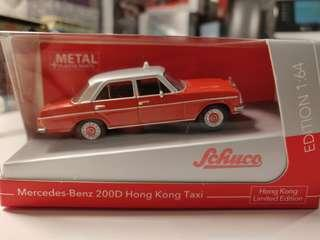 Schuco Tiny Benz 200D 香港老爺的士