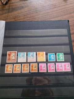 香港女皇頭郵票