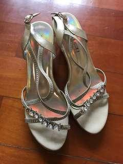 閃石高跟鞋 high heels sandals
