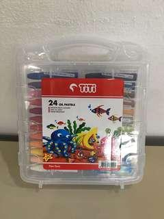 TiTi Oil Pastels  24 smooth rich colours