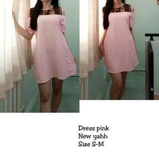 Dress pink NEW