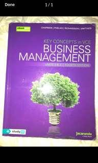 Jacaranda business management textbook unit 3&4 fourth edition 4E
