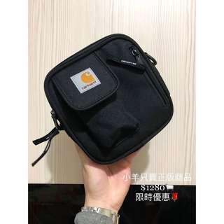 「保證正品」Carthartt WIP Essentialsbag 小包 方包 側包 斜肩包 限時優惠