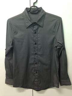 Long Sleeve Button Polo