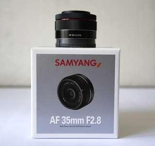 Samyang AF 35mm F2.8 (Garansi)
