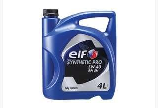 Engine Oil Elf Synthetic Pro 5W40 (4L)