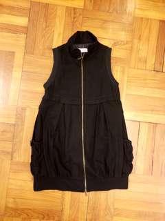 🈹️日版 ISBL 超輕黑絨型格背心外套