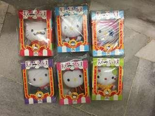 McDonald's Hello Kitty Circus Series (All 6pcs)