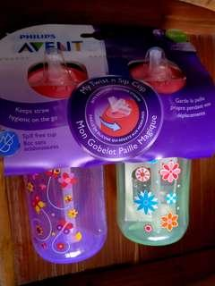 Philips Avent Straw Bottles