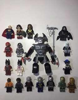 Non Lego人仔 英雄系列