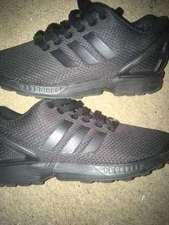 Adidas Triple Black Zx Flux