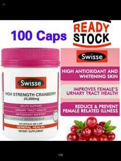 Swisse Ultiboost High Strength Cranberry 25,000 mg (100 Caps)