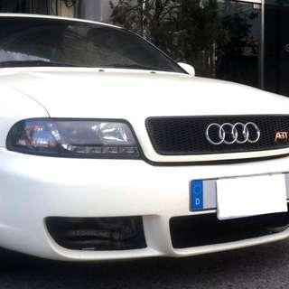 1998年頂級奧迪A4 1.8~便宜代步車.氣氛佳.恆溫.安全氣囊.新款鋼圈+跑胎