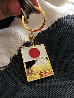 Gold plated Japan key holder
