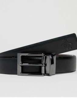 BNWT Penguin by Munsingwear reversible black/brown belt