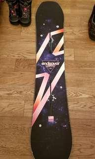 Snowboard Endeavor (150cm) + Boots