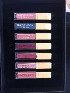 Napoleon Perdis lipsticks