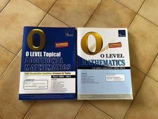 BN Math O level assessment books
