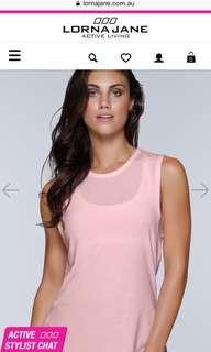 Lorna Jane Activewear singlet top in size large *brand new with tags*