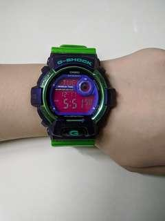G-shock Green with Purple [Fast Deal]