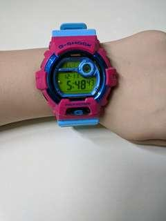 G-shock Blue with Pink [Fast Deal]