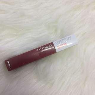 Maybelline Matte Lip Ink Shade Ruler ( Masih Segel )