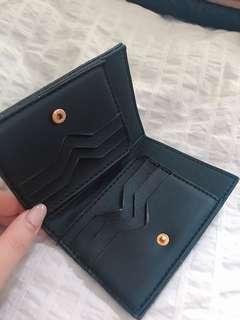 黑色銀包 6個卡位