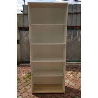 Almari Buku Book Shelf L80 X D38 , H205 cm * M25 A