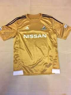 Adidas gold jersey - Japan Yokohama F.Marinos #MY1212